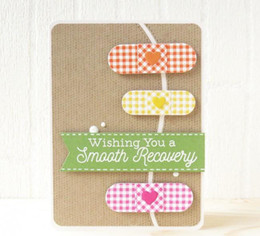 Lovely band-aid Cutting dies for Cards Scrapbooking and Paper Crafts Embossing folder DIY paper craft Machines