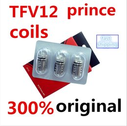 300% Original TFV12 Prince Cloud Beast Coil Head Replacement TFV12 Q4 X6 T10 M4 Coils Massive Vapor Vape Core Tank 100% Genuine Tech