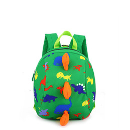 2018 Factory Kindergarten Schoolbag 3D dinosaur Cartoon Kids Animal Backpacks Children School Bags for Girls Boys
