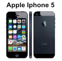"Original Facotry Unlocked Apple iPhone 5 mobile phone Dual Core 16GB 32GB 8MP Camera 4.0 "" Screen WIFI GPS refurbished cell phone"