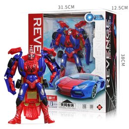 Transformation Cars Kid Classic Big Robot Toys For Children Action & Toy Figures Education Deformation Boys Gifts