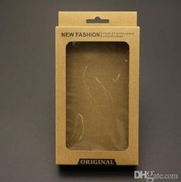 Kraft Brown Retail Package Pack Box with insert for PU Leather Phone case iPhone X 7 8 PLUS Galaxy S7 edge S8 S9
