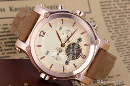 2018 venta caliente de los nuevos hombres de lujo relojes automáticos de alta calidad mecánica fecha de acero inoxidable tourbillion hombres reloj sho gratis