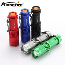 AloneFire SK68 Mini student child Flashlight 500lm CREE Q5 LED Aluminum Zoom Torch Waterproof Camping Lamp Penlight Zaklamp 14500 battery