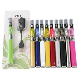 e cig eGo CE4 starter kit Single CE4 Blister Kits 650mah 900mah 1100mah EGO-T Battery CE4 Clearomizer case Atomizer vaporizer vape pen DHL