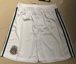 Nuevo Llegado 2017 2018 Pantalones cortos de fútbol México Home 17/18 blanco CHICHARITO Pantalones cortos de fútbol Hernández G DOS SANTOS Pantalones cortos de fútbol
