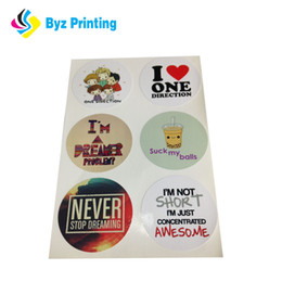 Best printing effect for self adhesive labels sticker,printed logo label sticker for decoration
