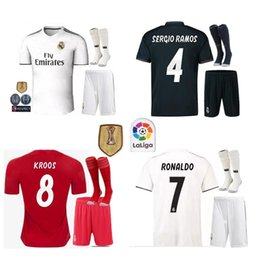 new Real Madrid home white Soccer Jersey 18 19 Real Madrid away Soccer shirt 2019 KROOS ISCO ASENSIO BALE third red Football uniform 3rd re