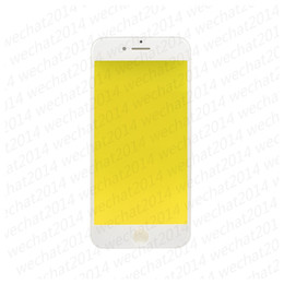 OEM Front Outer Touch Screen Glass Lens with Frame for iPhone 5 6 Plus 6s Plus 7 Plus free DHL