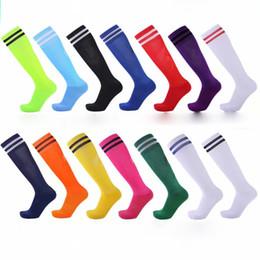 New Blank sock wild football socks long tube thick football suit with ball 13 color towel bottom ball socks over knee sports ball socks