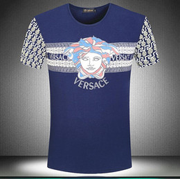 2018 Classic New Men's Print Polo Shirt 100% Cotton Short Sleeve Camisas Garden Collar Men's Polo Shirt Spring Summer Breathable T-shirt E1