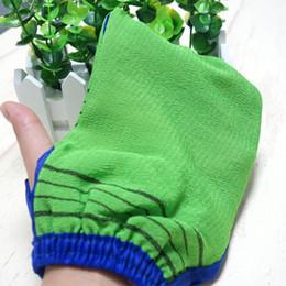 korea hammam scrub mitt magic peeling glove exfoliating tan removal mitt