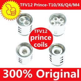 100% Authentic TFV12 Prince Cloud Beast Coil Head Replacement V12 Q4 X6 T10 M4 Coils Massive Vapor Vape Core Tank 100% Genuine