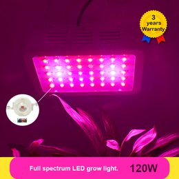 120W LED Grow Light Full Spectrum LEDs Plant Lamp Lighting Fitolampy Lamps for Plants Flowers Seedings Growing Greenhouse