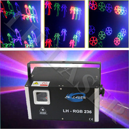 LH-RGB236 ILDA 1.5watt rgb full color laser Holiday light show projector For Christmas and advertising