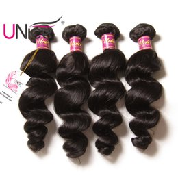 UNice Hair Loose Wave Bundles Malaysian Brazilian Remy Bundles 100% Human Hair Weave Loose Wave Bundle Unprocessed Cheap Hiar