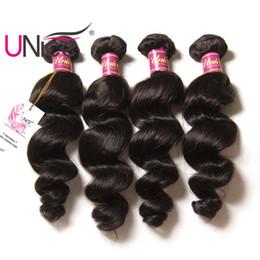 UNice Hair Loose Wave Bundles Malaysian Brazilian Remy Bundles 100% Human Hair Weave Loose Wave Bundle Unprocessed Cheap Hiar