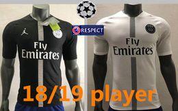 Player version 18 19 PSG MBAPPE home shirt T SILVA CAVANI DI MARIA PASTORE 2018 2019 Paris Verratti Matuidi buffon seasons custom jersey