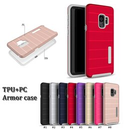 factory price 2 in 1 tpu + pc hybrid hard armor case anti-sweat anti fingerprint mobile protector back cover for iphone X XR XS PLUS