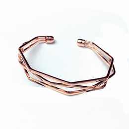 Free Shipping Minimalist multi-layered stereo irregular bracelet fashion hundred lap geometry diamond bracelet wave type bracelet