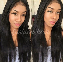 8A Grade Full Lace Human Hair Wigs Straight Human Hair Wig with Lace Front Wigs