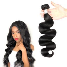 Unprocessed Human Hair Brazilian Body Wave 3PCS Human Hair Bundles Double Weft Peruvian Hair Weave Bundles