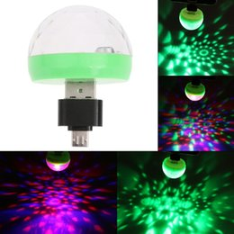 Portable USB Disco Stage Light Home Party Lights Karaoke LED Decorations Colorful KTV DJ Disco Light Lamp