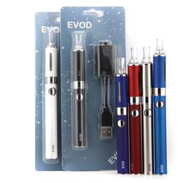 Electronic cigarette Evod blister starter kit 650mah 900mah 1100mah battery ego e cig cigarette kit cigarettes cigs