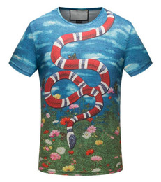 2018 New Hot Fashion Sale Brand Clothing Men Print Cotton Shirt T-shirt men Women T-shirt 18 styles M--3XL.201