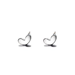 2018 New Trends Clean Lucky Small Fresh Cute Heart Shape Love Joker Earrings Earrings Ear Ears Wild Female Accessories