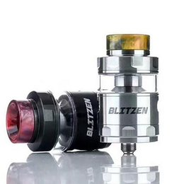 2018 new fashion design colorful BLITZEN RTA rebuildable clearomizer huge vape atomizer with adjustable airflow vape tank for 510 tread mod