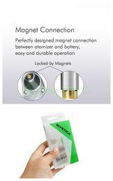 In Stock! Mystica Vaporizer V11 Oil BUD Starter Kit 650mah Battery Box Mod Vape Pen Cartridges With G2 Atomizer Mini Tank Magnetic DHL