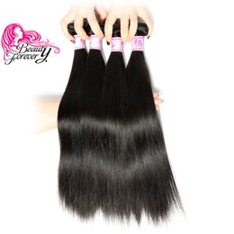 Beauty Forever Malaysian Straight Hair 8-30inch Bundles 100% Human Hair Weave 1 Piece Natural Color Hair Extensions Best Quality Wholesale