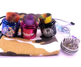 Apocalypse Rda Apocalypse Mechlyfe Apocalypse War cotton candy with resin drip tip wholesale from china manufacturer