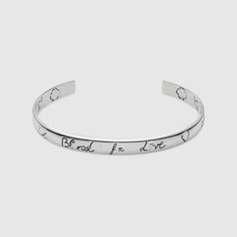 925 sterling silver genuine retro eye flower couple men and women bracelet opening silver bracelet Europe and the United States Street star