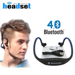 S9 Bluetooth Earphone Sport Wireless Headphones Support TF SD Card Bluetooth Headset Music Headphone with Mic For Phone Xiaomi