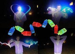 Multi-color Light Lamp Beams Torch Bright LED laser Finger Ring For Party KTV Bar gift Hot Selling