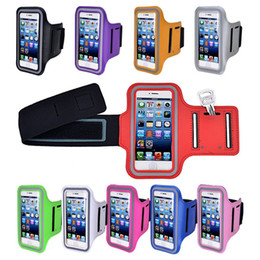 Sports Gym Armband Running Jogging WaterProof Case Cover With Key Holder for iphone X 8 7 6 6S Samsung S8 Note 8