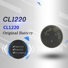 Japan original imported genuine cl12203v Lithium 18mAh ML1220 rechargeable Lithium battery button cell battery no pump battery