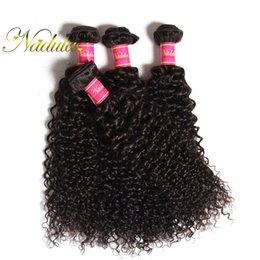 Nadula Malaysian Curly Hair Bundles 4Bundles Virgin Human Hair Extensions Natural Color Human Hair Weave Wefts Cheap Wholesale Natural