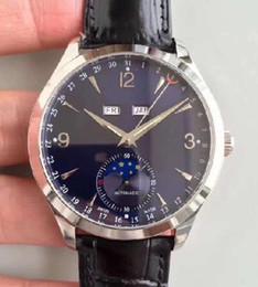 baodewatches oferta AAA reloj de lujo para hombre correa de cuero de moda automático pareja 2 colores movimiento automático reloj de pulsera zafiro