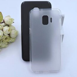 For Samsung Galaxy J2 Core Case Matte Case Frosted Pudding Soft TPU Cover For Samsung J2 Core J260 SM-J260G