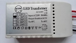 AC220V LED Lighting Transformer LED Controller Power Supply Driver for LED Bulb Can Drive 2-130 LEDs