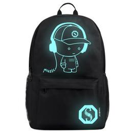 5534706aa1c Anti-thief Bags Nightlight Children School Backpack Pencil Case Anime  Luminous School Bags For Boy Girl Student Schoolbag