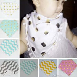 50pcs Xmas Baby soft tassel Triangle Bib burp cloths soft Cotton minky dots water absorption Bandana Bibs Saliva Bavoir Towel Pinafore YE012