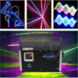 Christmas laser 2.5w logo projector rgb animation laser light show RGB Stage full color ILDA Animation Laser Light