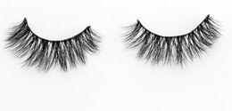 3D-MA10 Wholesale Natural 3d false eyelashes 3D 100% Real Mink False Eye Lashes  Fake Eyelashes Extensions For Makeup Free Shipping