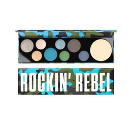 Black Radiance Makeup Geek Girls 9 Color Beauty Makeup Rockin Rebel Eyeshadow Palette Cosmetics