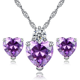 2018 Fashion Red Heartl Pendant Necklace Fine Jewelry Top Quality Girl Friend Gift FREE SHIPPING JN302