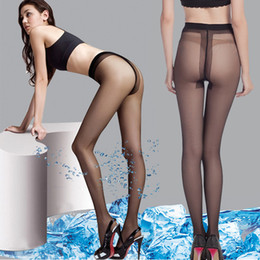 Frozen stockings ultra-thin anti hook core spun crotch T crotch sexy pantyhose, fish socks, socks